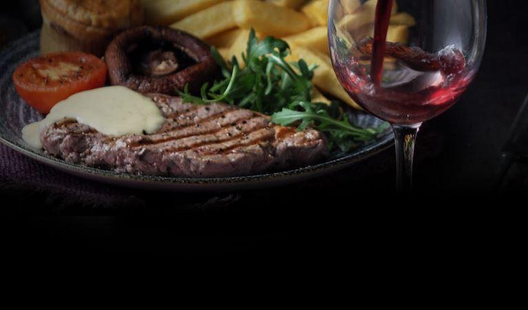 Steak & Wine night