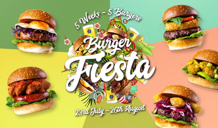 Our Burger Fiesta is on its way!