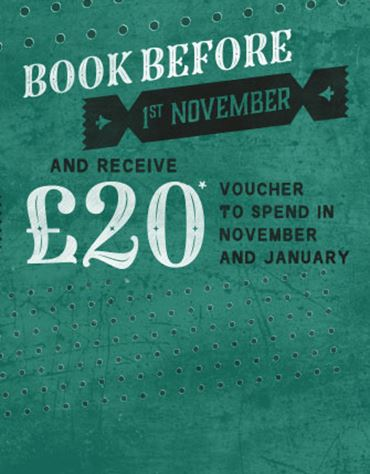 Book Before 1st November...