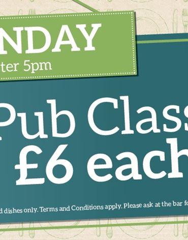 Pub Classics Monday