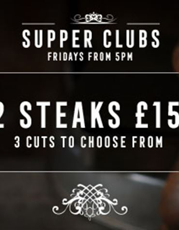 Friday - 2 Steaks for £15