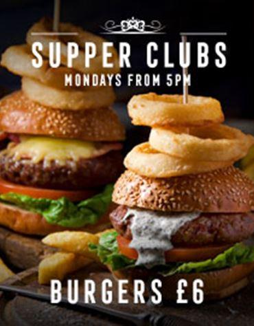 Monday - Burger £6