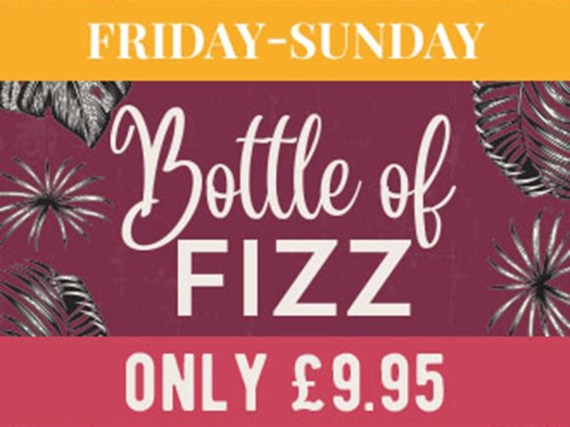 Fizz Friday to Sunday