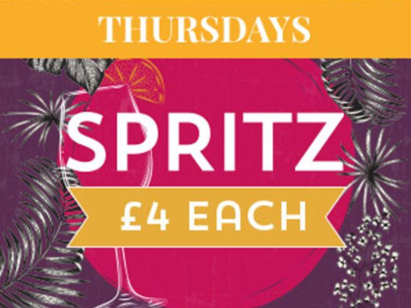 Spritz Thursdays