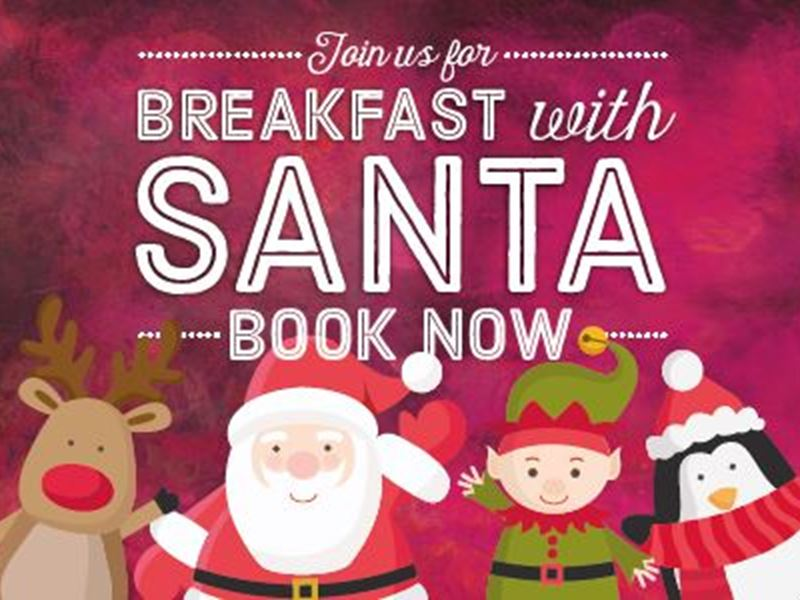 Join us for Breakfast with Santa