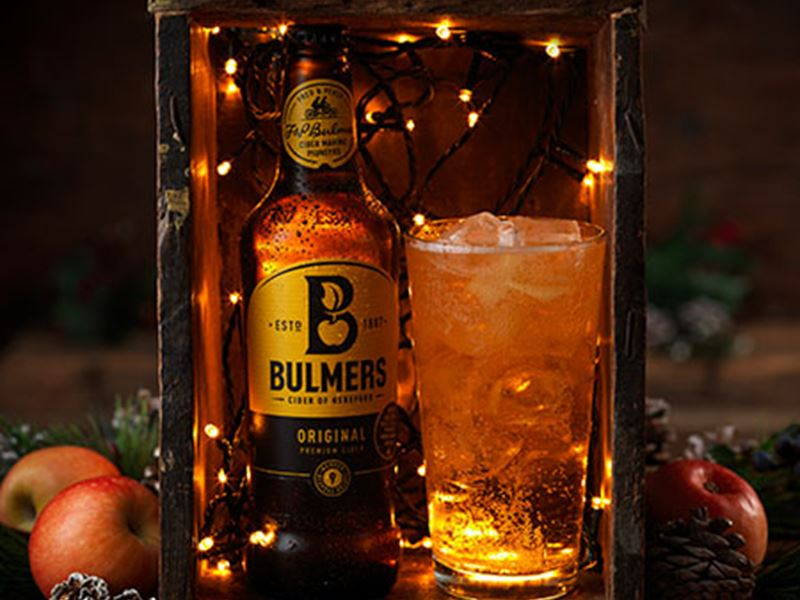 3 Cases of Bulmers for £30