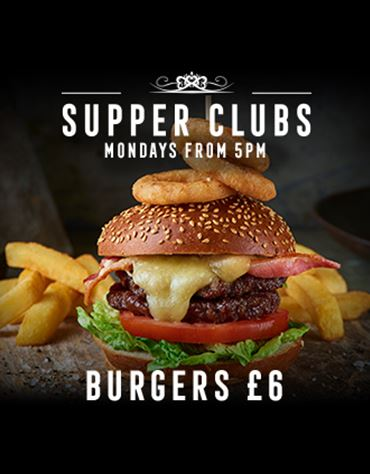 Monday- Burgers