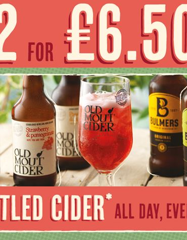 Bottled Cider Deal