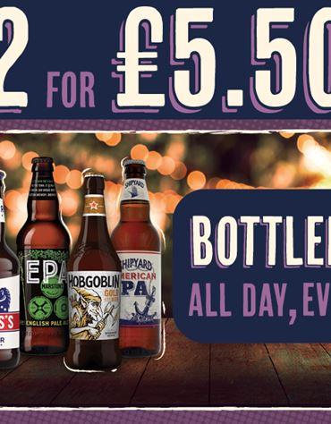 Any 2 bottled ales
