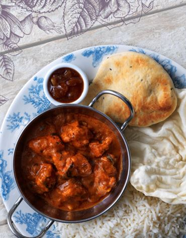 Enjoy any curry for £8.50*