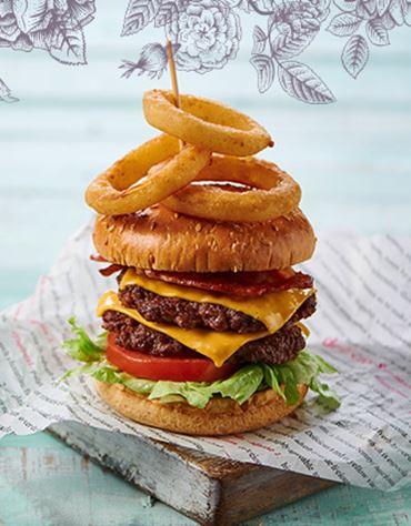 Enjoy any burger from £7.50*