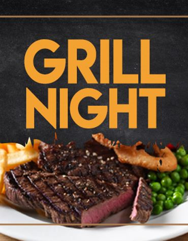 Enjoy a free drink with any grill*